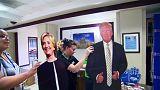 Hillary Clinton taraftarları adaylarının tartışma programı performansından memnun