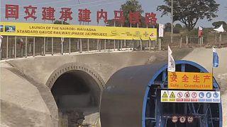 President Uhuru Kenyatta ignores calls to change railway route