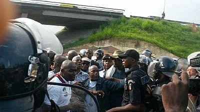Police disperse Ivorian opposition demonstration, leaders arrested