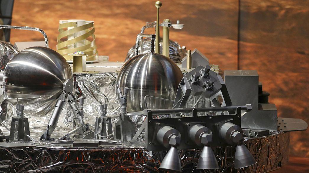 ¿Sobrevivió el módulo Schiaparelli al aterrizaje en Marte?