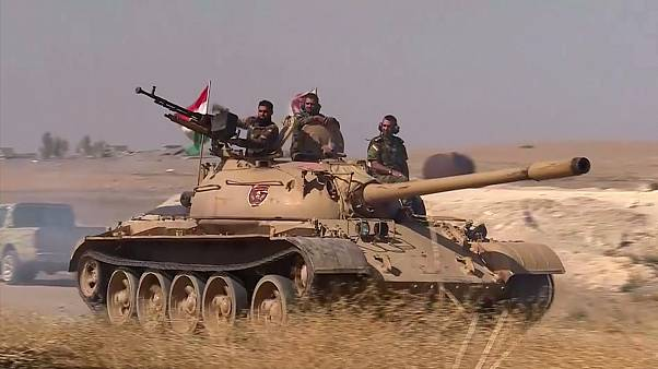 Aknáktól tartva óvatosan nyomulnak előre a pesmerga erők Irakban