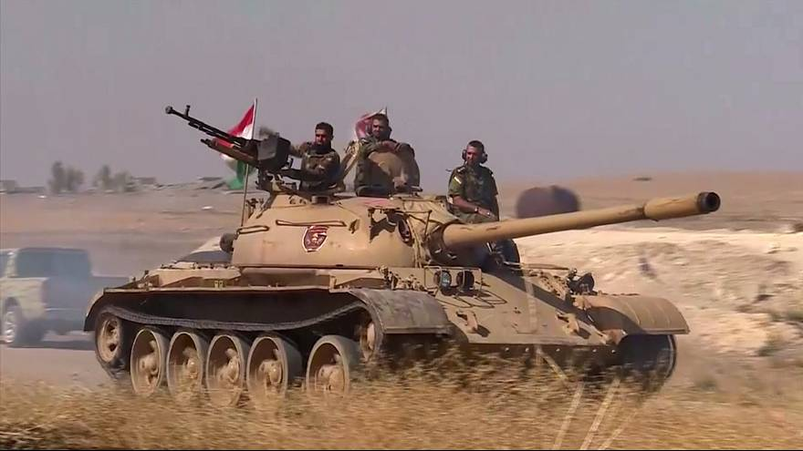 Курды идут на Мосул, расчищая минные поля