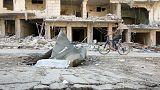 В Алеппо началась гуманитарная пауза