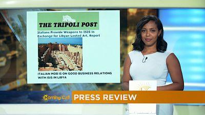 Revoir la revue de presse du 20-10-2016 [The Morning Call]