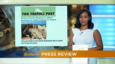 Press Review of October 20, 2016 [The Morning Call]