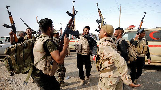 Под Мосулом идут бои за бывшую плотину Саддама
