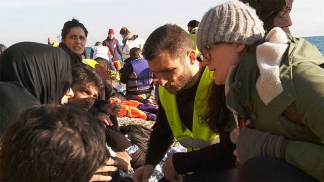 Greece's economic boost from refugee aid