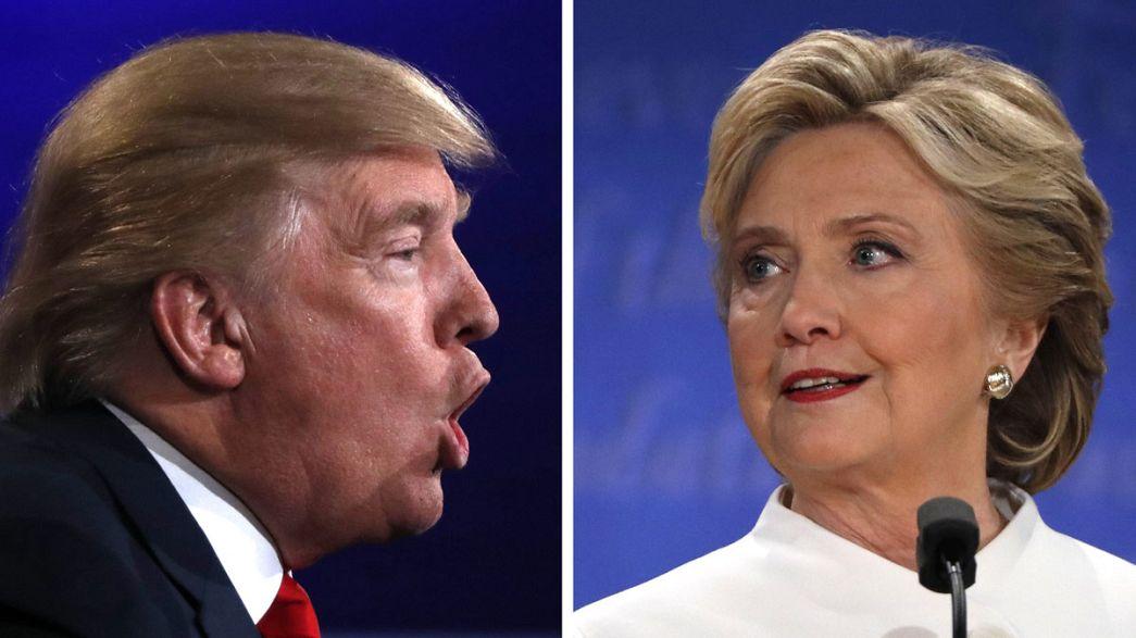 بين ترامب وكلينتون: المناظرة الأخيرة