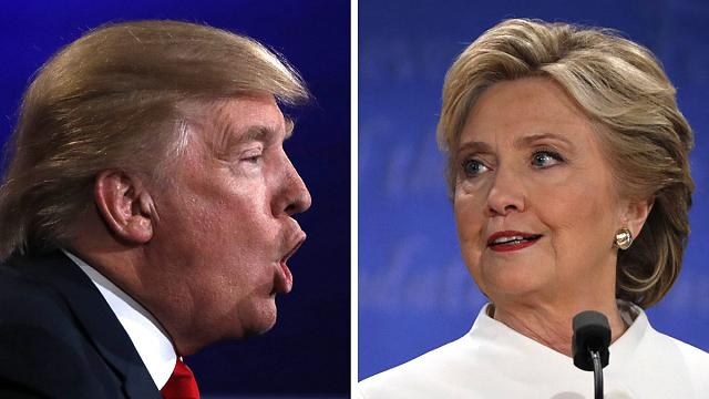 Clinton vs Trump - the final round