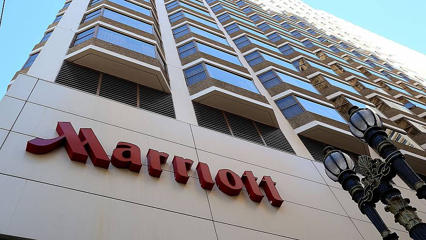 Image: A Marriott hotel in San Francisco, California