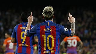 UCL round up: Messi 'mess' Guardiola, Arsenal hit six, PSG cruise
