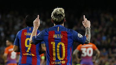 UCL round up: Messi 'mess' Guardiola, Arsenal hit six, PSG cruise