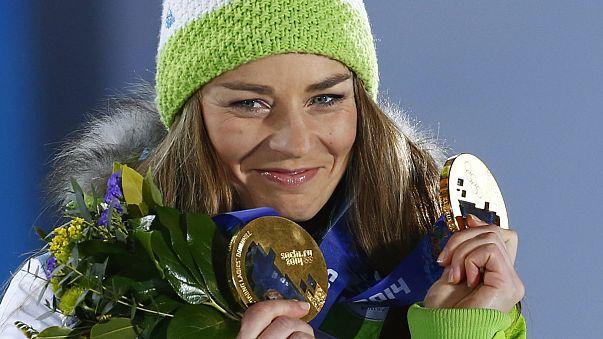 السلوفينية تينا مازي تعتزل التزلج