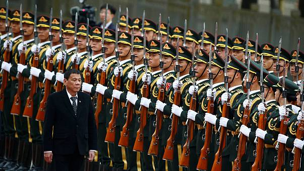 """Филиппины """"прощаются"""" с США и ищут новых друзей"""