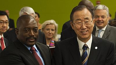 DRC dialogue consensus: Ki-moon commends Edem Kodjo