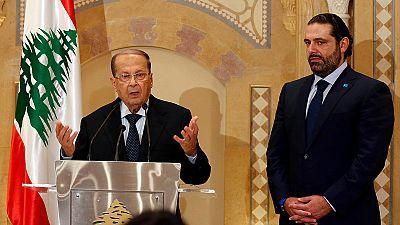 Hariri gambles on Aoun to break Lebanon political deadlock