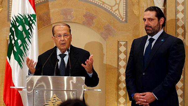 Hariri apoia Aoun e abre caminho ao fim da crise política no Líbano