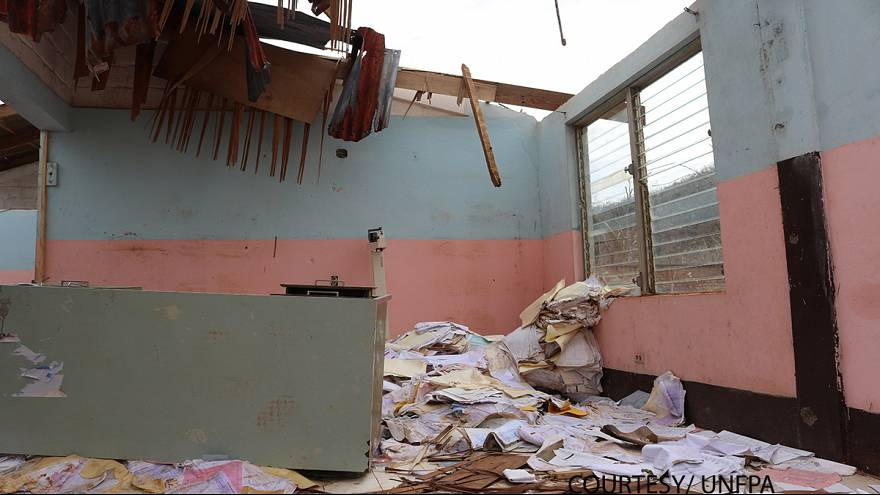 Video: Inside hurricane-ravaged Haiti hospital