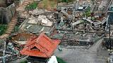 Землетрясение на западе Японии ощутили 31 из 47 префектур
