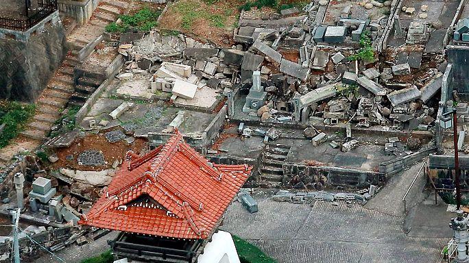 Terramoto de 6.6 no Japão deixa alguns edifícios sob o risco de colapso