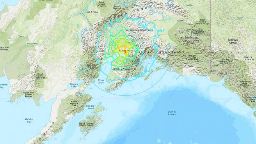 A 7.0-magnitude earthquake hits Alaska, triggering tsunami warning