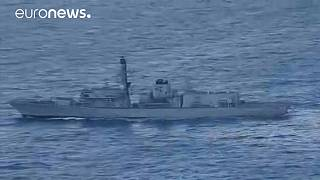 Russia warships pass through English Channel under UK Navy's watchful eye