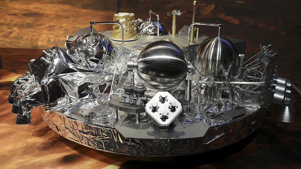 Demi-succès pour la mission ExoMars