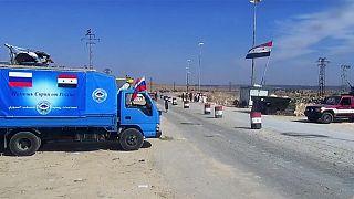 گذرگاه های امن روسیه و سوریه در حلب بی گذر ماند