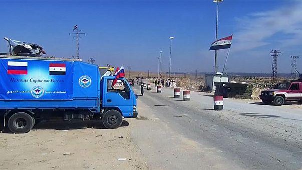 A fome, arma de guerra em Aleppo