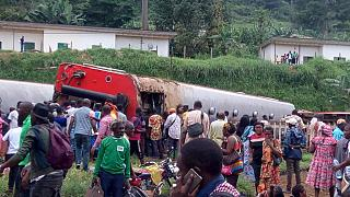 [Update] Cameroon train derailment: 53 dead, 575 injured, 14 trapped in carriages