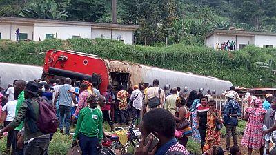 Cameroun: au moins 75 morts dans un déraillement de train à Eseka (mise à jour)