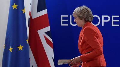 "Theresa May ""optimiste"" pour le Brexit"