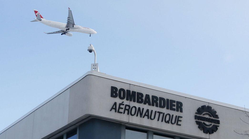 Bombardier va supprimer 7500 emplois