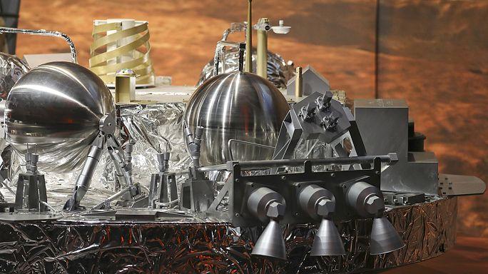 L'atterrisseur Schiaparelli s'est écrasé sur Mars