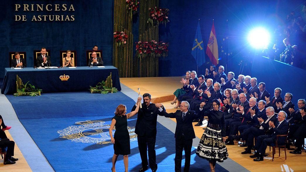 Prémios Princesa das Astúrias entregues em Oviedo