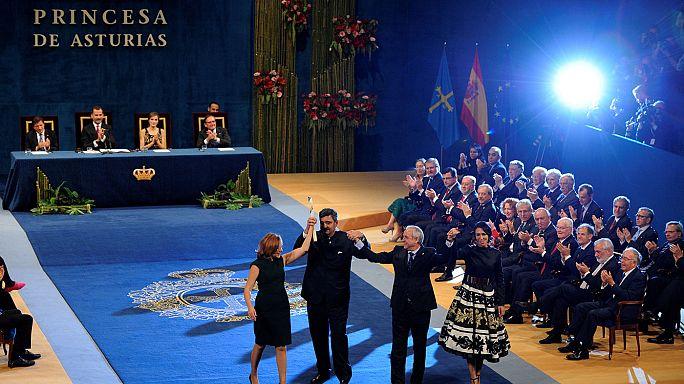 Consegnati a Oviedo i premi Principessa delle Asturie 2016