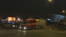"Two in hospital after ""chemical incident"" at London City airport"