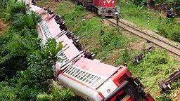 Train crash in Cameroon kills more than 50 people