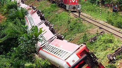 Train crash in Cameroon kills more than 50 people
