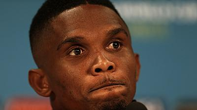 Grief-struck Samuel Eto'o sends condolence to train accident victims