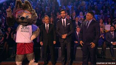 Russia chooses wolf Zabivaka as World Cup 2018 mascot