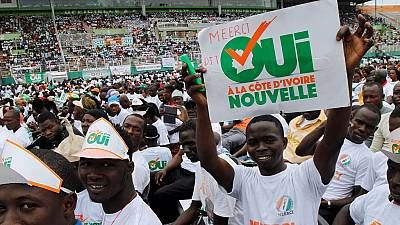 Ivory coast: Referendum on the Constitution campaign begins