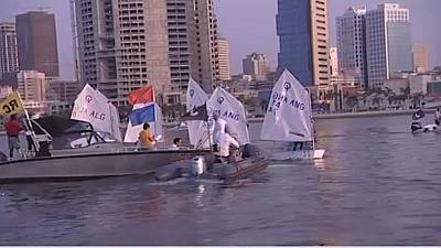 Angola's hosts and lifts Africa's optimist sailing championship