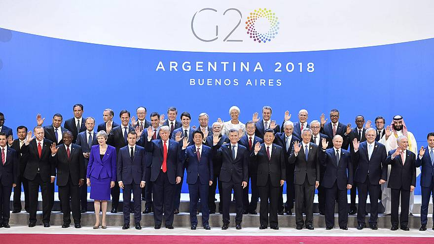 G-20 nations agree on trade, migration; not climate change