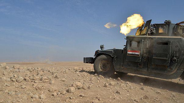Irakische und kurdische Truppen rücken weiter auf IS-Hochburg vor