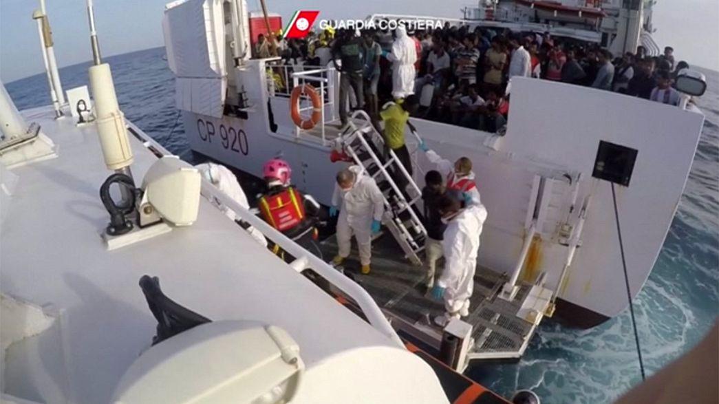 Italie/Libye : 3300 personnes sauvées de la noyade en Méditerranée