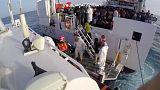 Италия: 3300 мигрантов спасены в Средиземном море