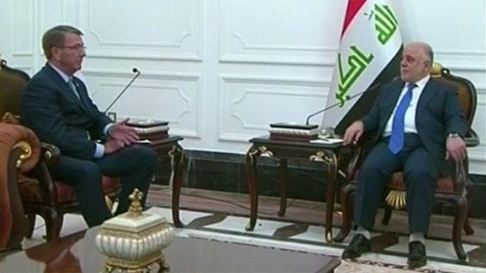 US-Verteidigungsminister besucht Irak