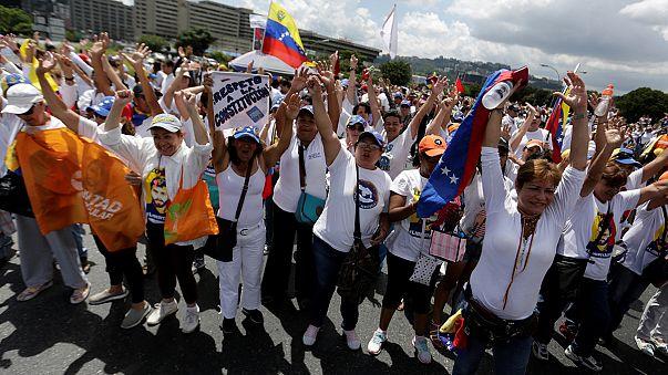 Venezuela's opposition holds protests after quashed referendum