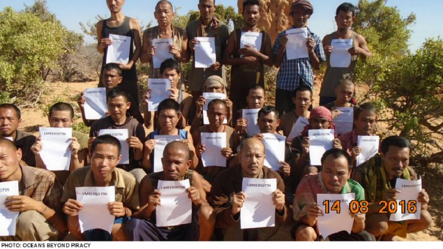 26 hostages released by Somali pirates after nearly five years in captivity